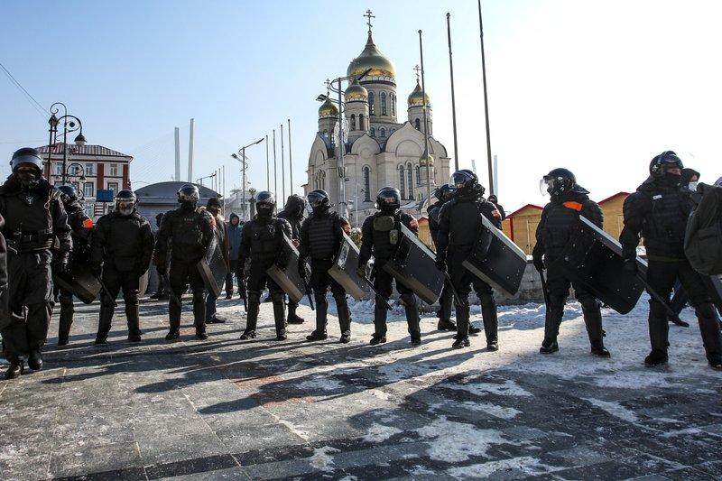 Alexei Navalny Arrest Protest