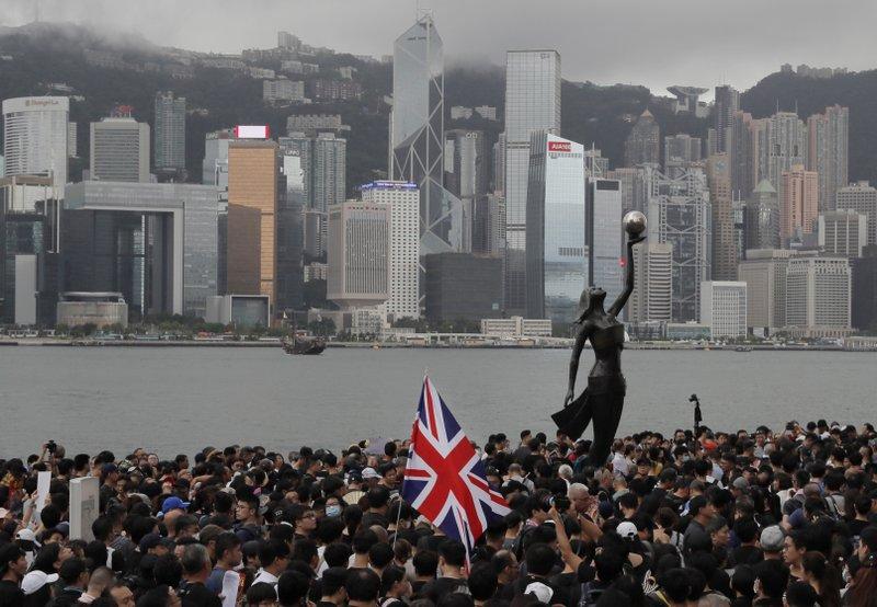 China Crackdown,china Crackdown To Hong Kong,china And Hong Kong,