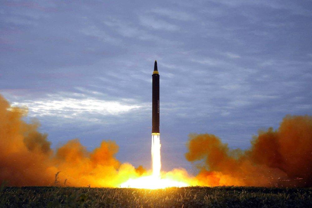 Hwasong 12 Intermediate Range Missile