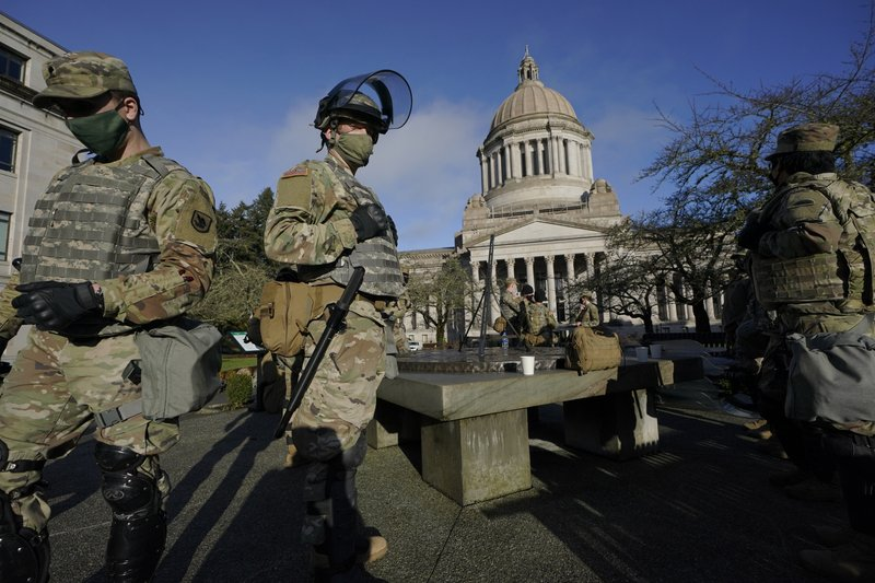 Us Capital Brace For Potentially Violent Week