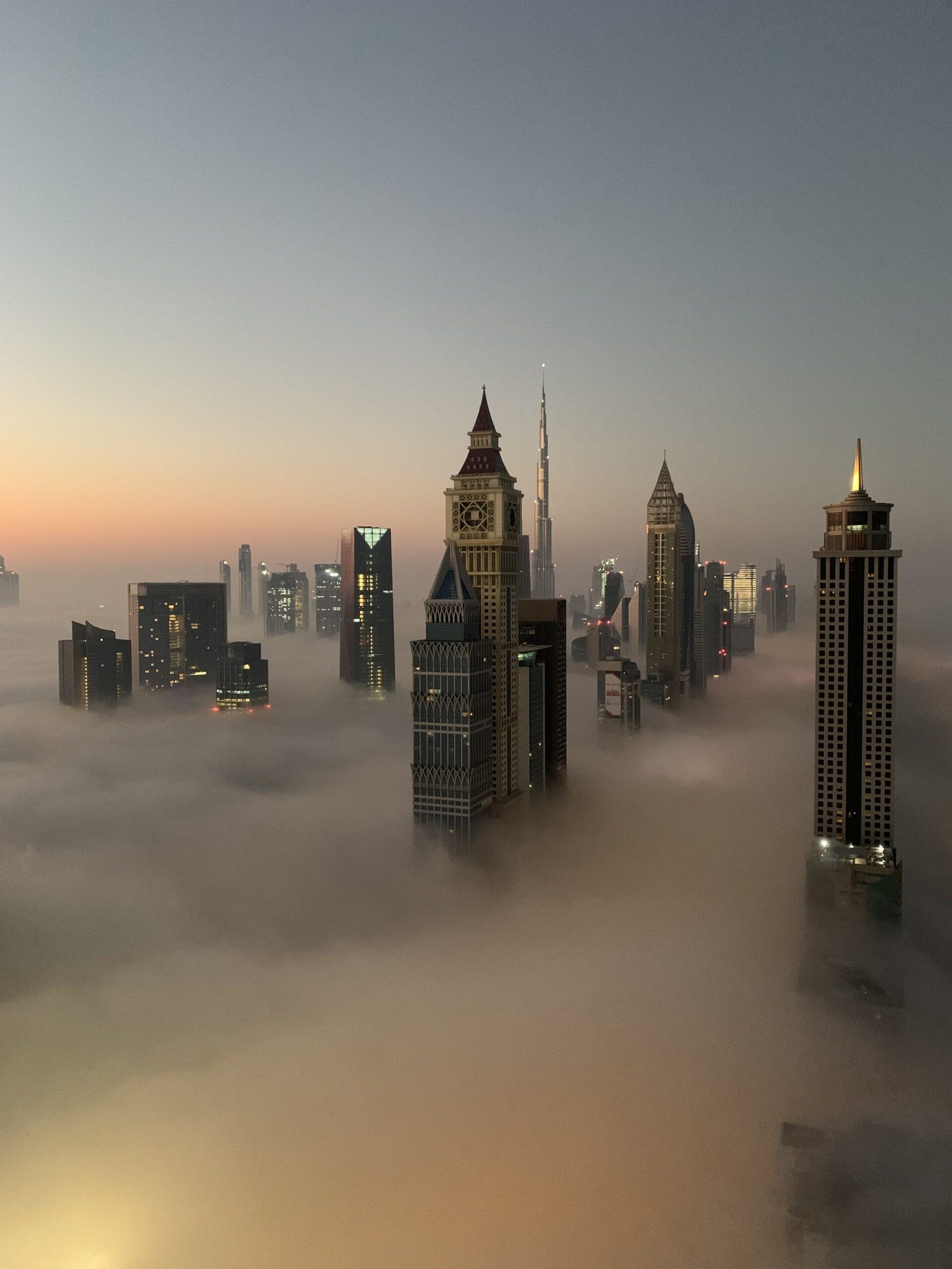 Fog In Dubai 1