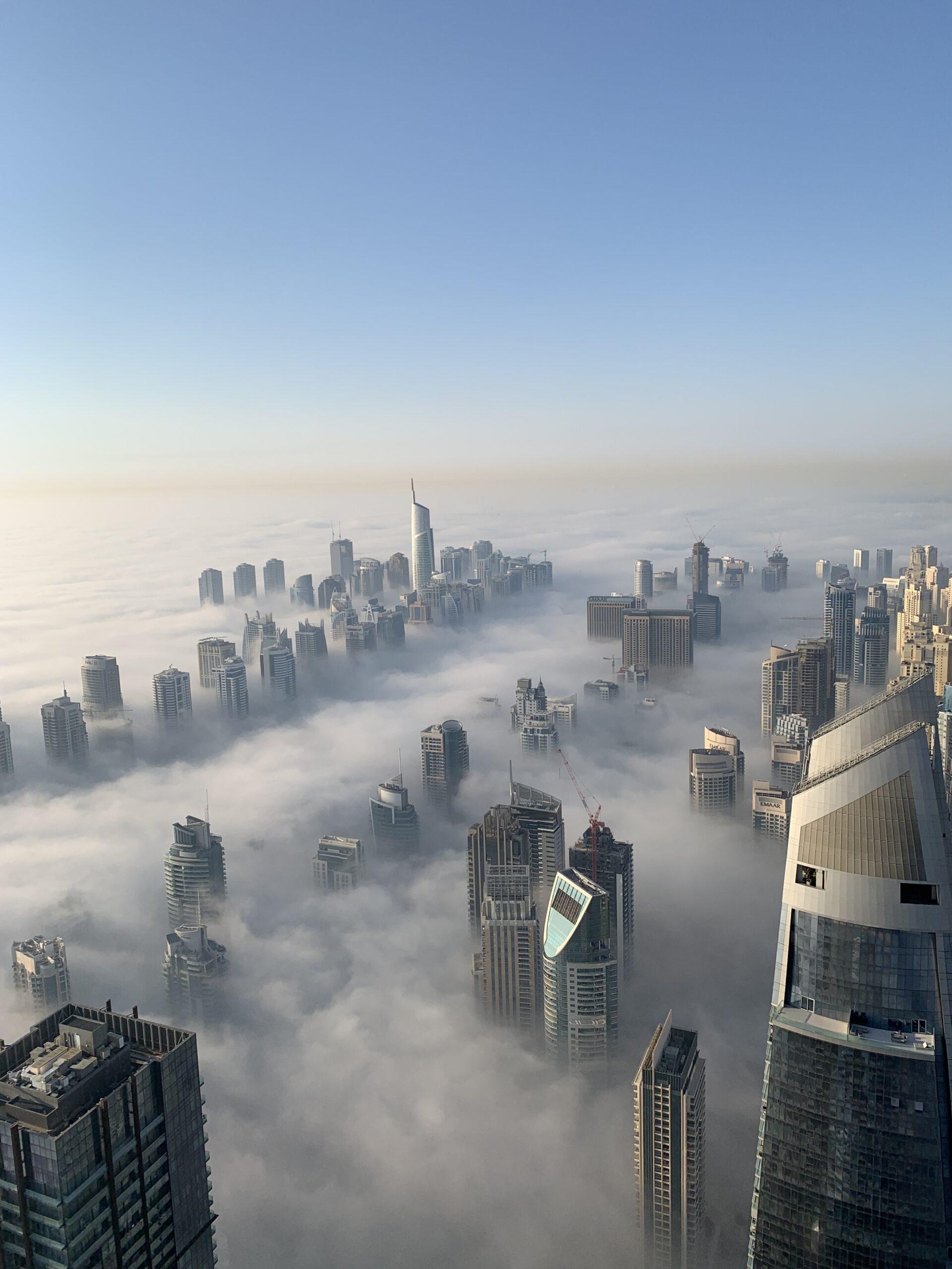 Fog In Dubai 2