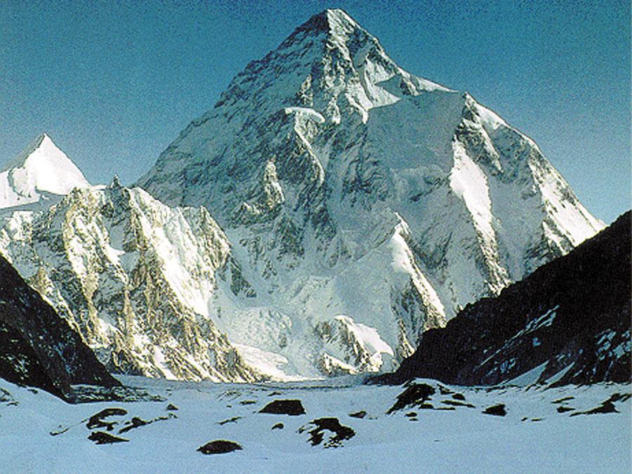 K2 District Karakoram Range Portion Gilgit Baltistan Region Pakistan