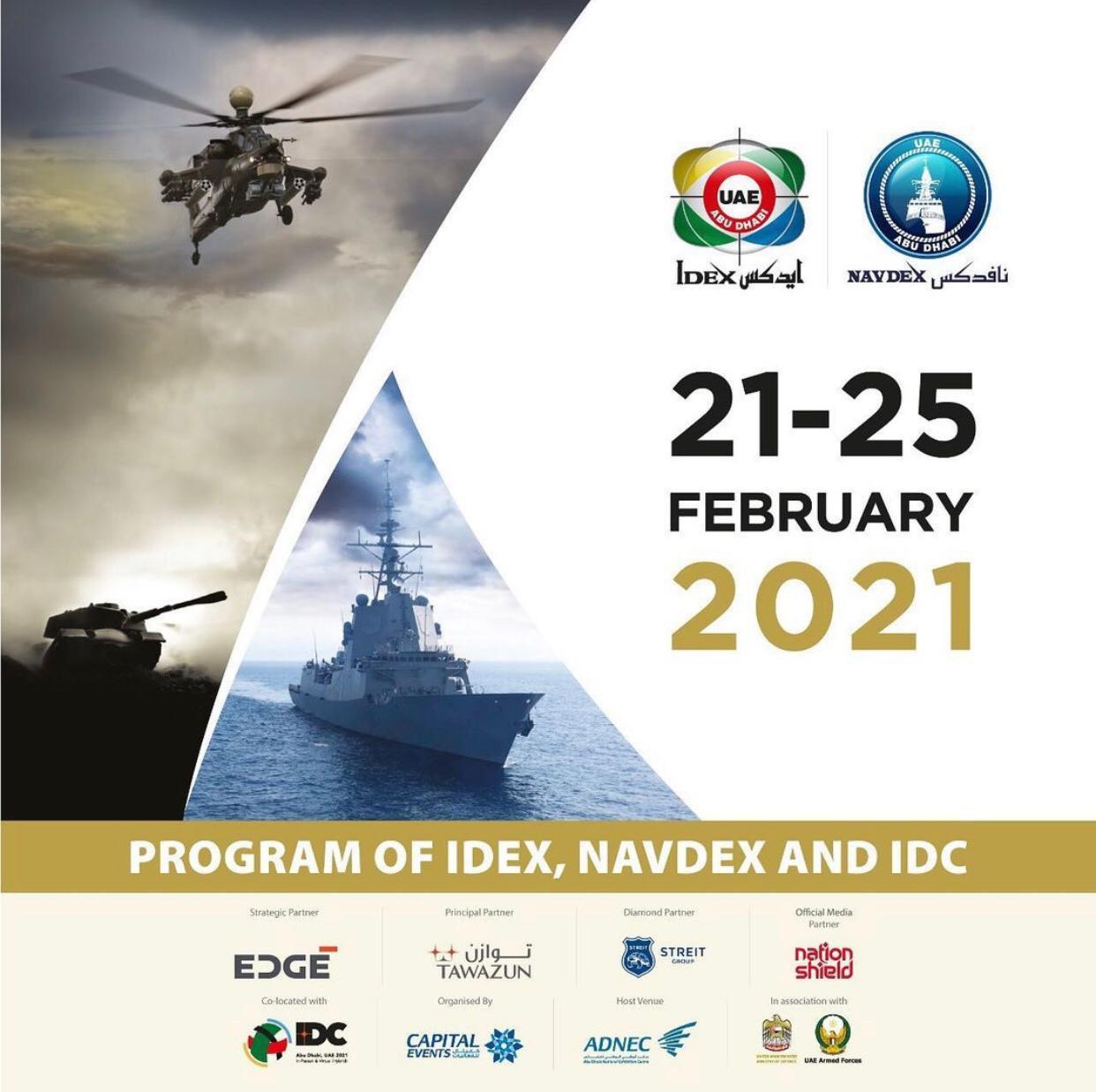 Uae Military Idex 2021