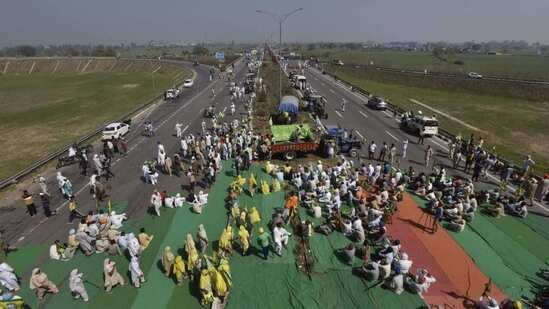 100 days of farm law protest