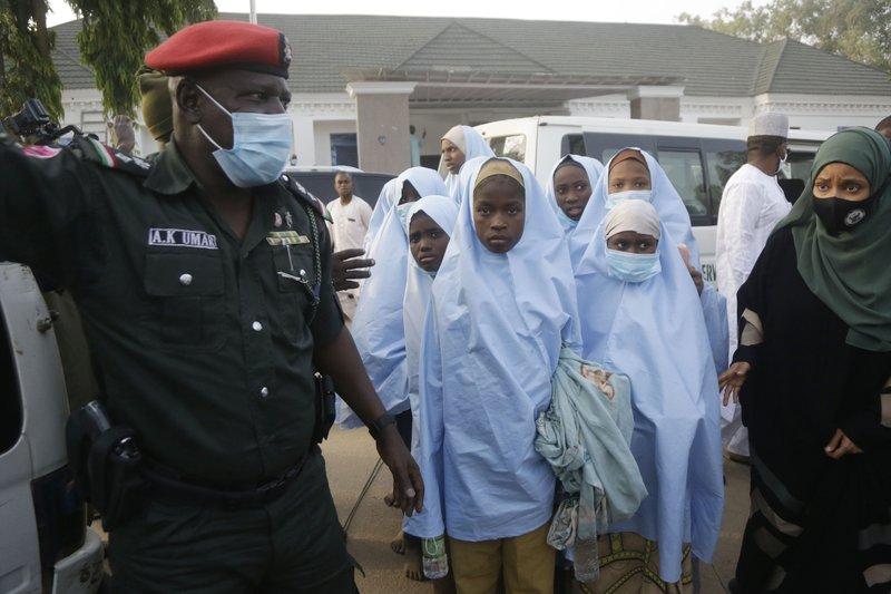 nigerian school girls are freed