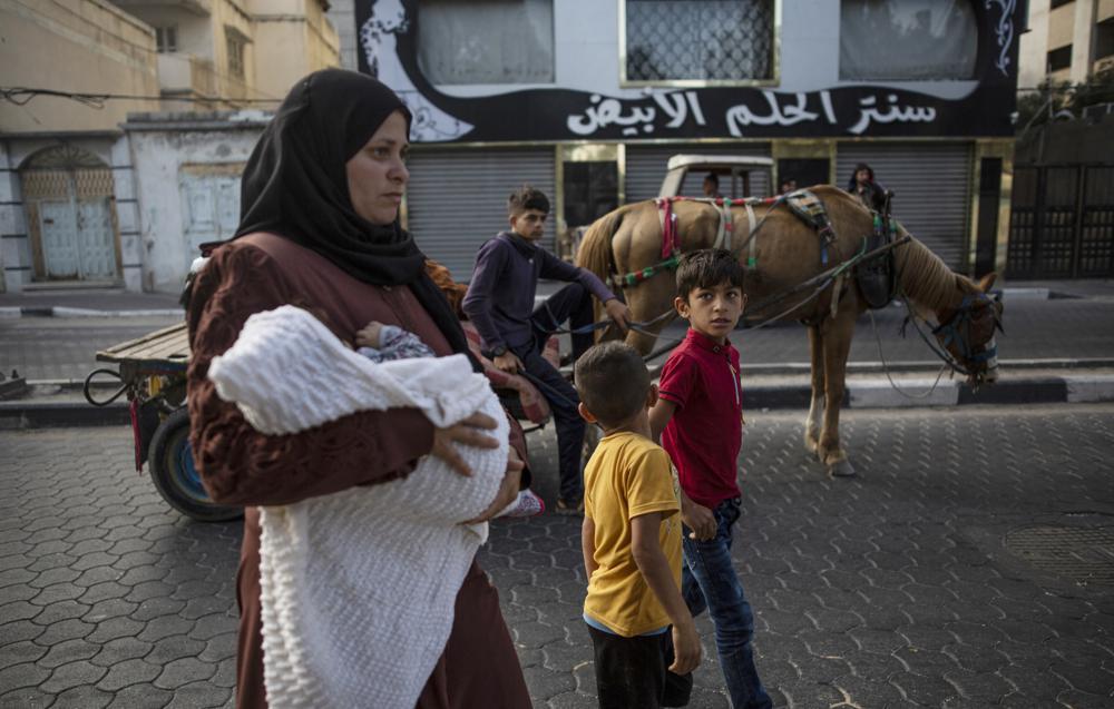 israel hamas fighting gaza city