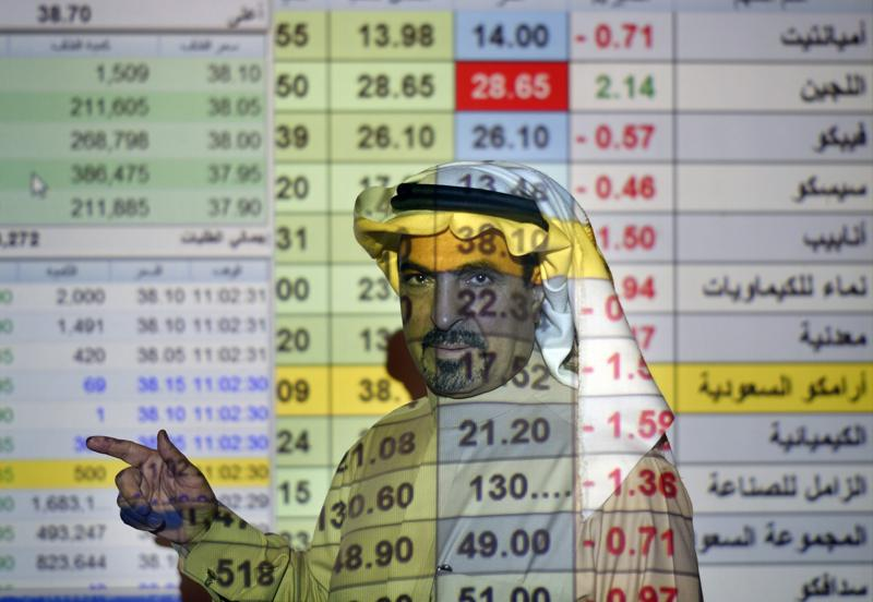 saudi oil firm aramco's first quarter profits up by 30%
