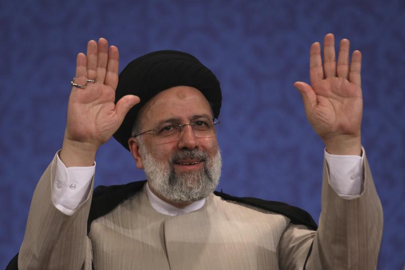 iran president elect takes hard line, refuses to meet biden
