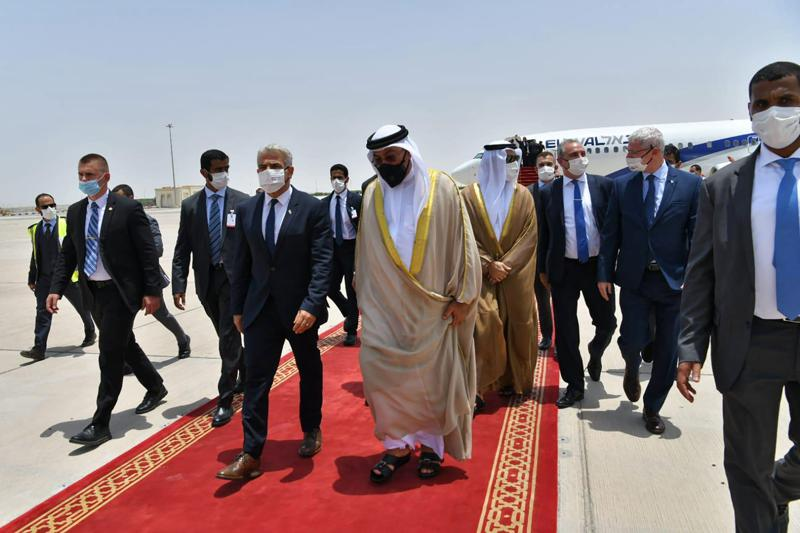 new israeli foreign minister in the uae on 1st state visit