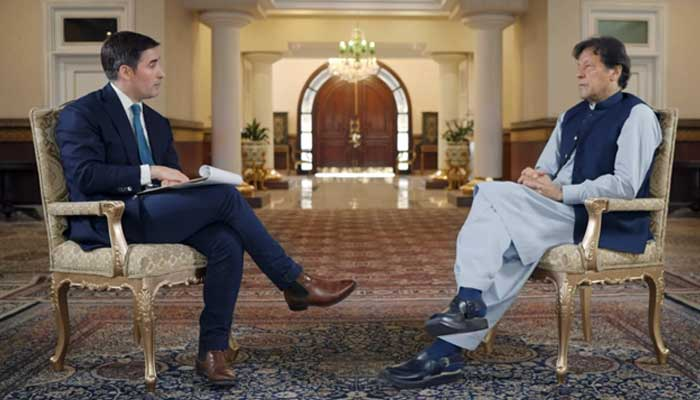 pm imran khan gives interview to hbo axios