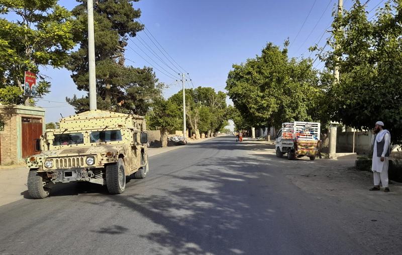 taliban take key afghan district, adding to string of gains
