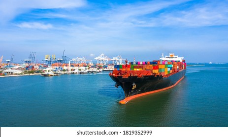 container ship freight shipping maritime 260nw 1819352999