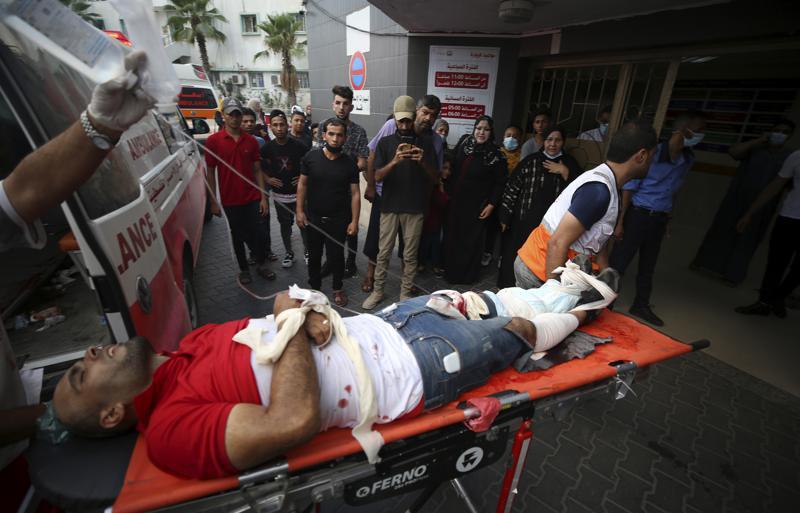 gaza palestinians resume demonstrations on israeli border